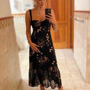 Reformation Nikita Dress in Mademoiselle *NEW*